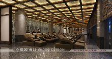 广德笄山竹海温泉度假酒店(五星级)设计-休息大厅